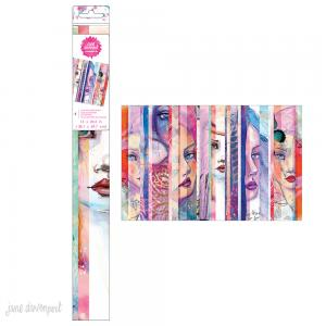 Collage Paper Sheet – Faces - Jane Davenport