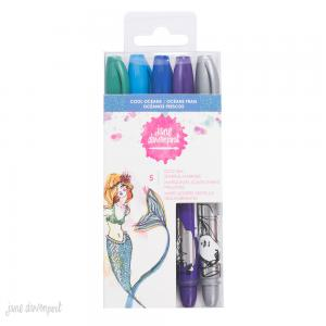 JD MM Glitz Sea Sparkle Markers - COOL OCEANS