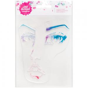 JD MM  Acrylic Stamp 1 Face