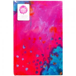 JD MM  9×6 Art Journal – Bright Abstract Print