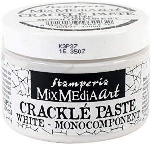 Crackle Paste WHITE - Stamperia