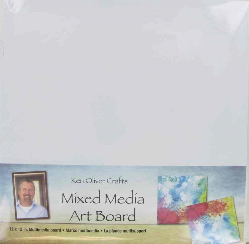 Mixed Media  Art Board 12x12 - Ken Oliver