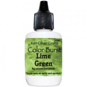 Lime Green Color Burst - Ken Oliver