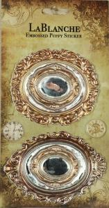 Metallic-Sticker FRAMES - LaBlanche