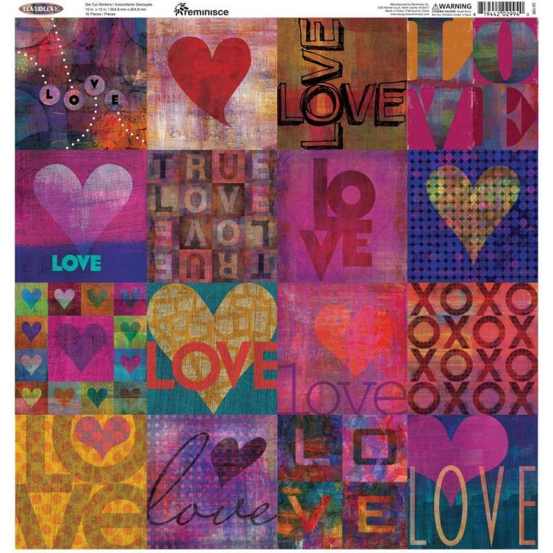 LOVE IS LOVE Stickers - Reminisce