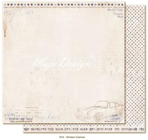 Denim & Friends - Drivers License - Maja Design (kopia)