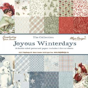 Joyous Winterdays - 6x6 Paper Pack - Maja Design