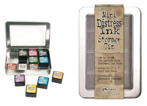 Mini Distress Ink Storage Tin - Tim Holtz
