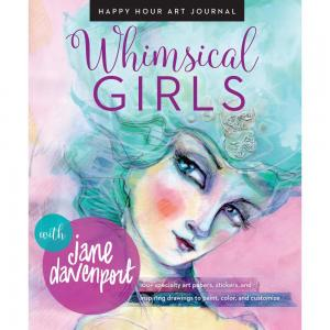 WHIMSICAL GIRLS Mixed Media Resources - Jane Davenport