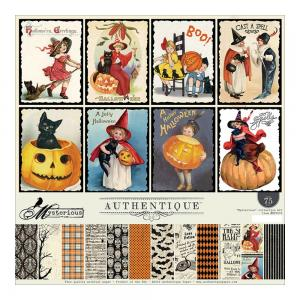 "Authentique Collection Kit 12""X12"" Mysterious"