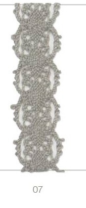 Band - Poppy Lace - 10mm - Taupe