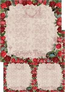 Vintage Rose Collection - GARDEN - Reprint