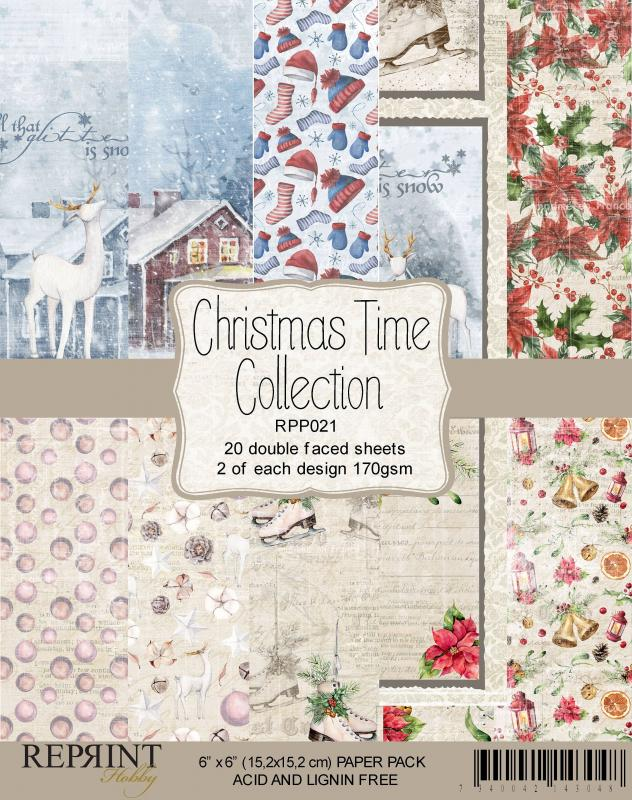 Christmas Time 6X6 Collection Pack - Reprint