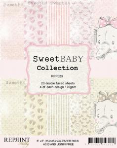 Sweet Baby PINK 6X6 Collection Pack - Reprint