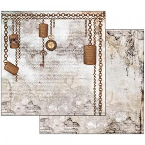 Clockwise Chains & Keys Paper - Stamperia