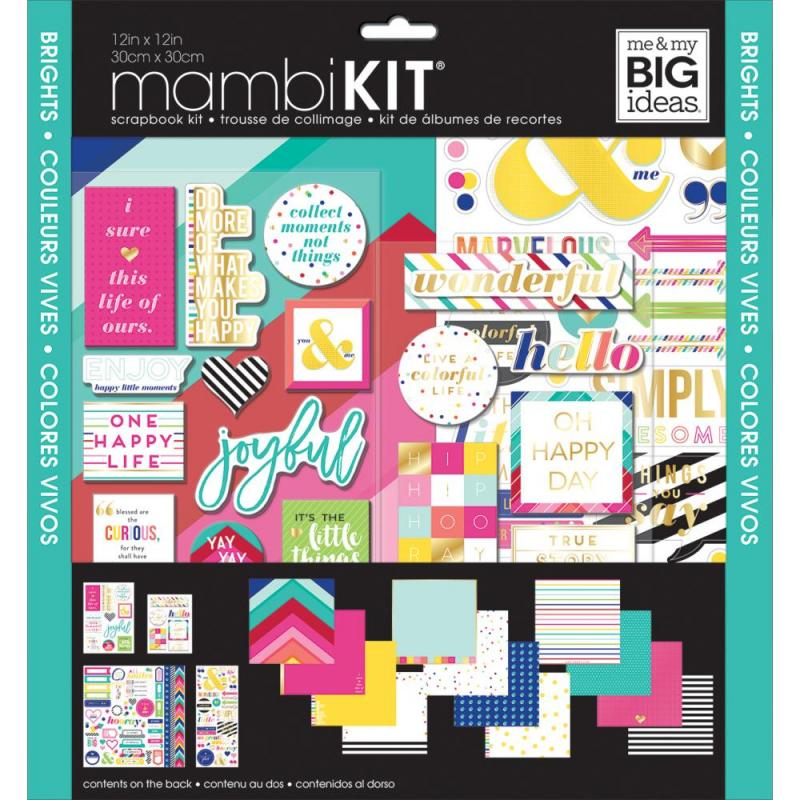 Brights Page Kit - Me & My Big Ideas