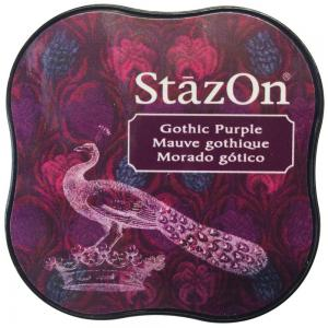 StazOn Midi Ink Pad Gothic Purple - Tsukineko