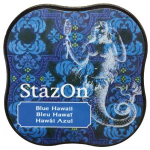 StazOn Midi Ink Pad BLUE HAWAII - Tsukineko