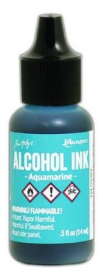 AQUAMARINE Alcohol Ink - Tim Holtz Ranger