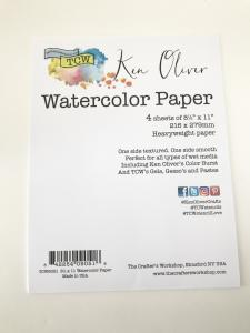 Watercolor Paper  by Ken Oliver