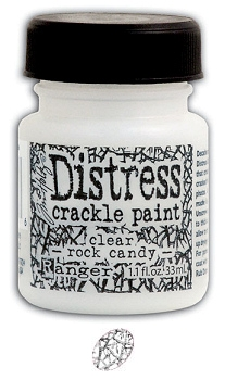 Distress Crackle Paint Clear Rock Candy MINI - Ranger
