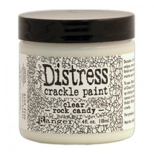 Crackle Paint- Clear Rock Candy-  Distress