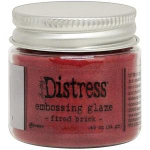 FIRED BRICK Distress Embossing Glaze - Tim Holtz