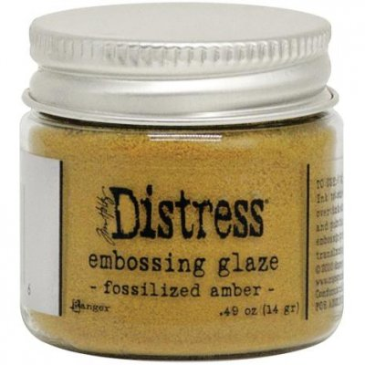 FOSSILIZED AMBER Distress Embossing Glaze - Tim Holtz
