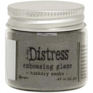 HICKORY SMOKE Distress Embossing Glaze - Tim Holtz
