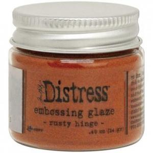 RUSTY HINGE Distress Embossing Glaze - Tim Holtz