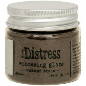 WALNUT STAIN Distress Embossing Glaze - Tim Holtz