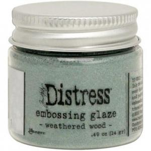 WEATHERED WOOD Distress Embossing Glaze - Tim Holtz