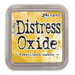Distress Oxide Fosslized Amber - Tim Holtz