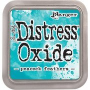 Distress Oxide Peacock feather - Tim Holtz