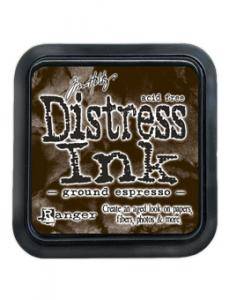 Ground Espresso - Distress MINI Ink Pad