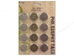 PHILOSOPHY TAGS Idea-Ology - Tim Holtz