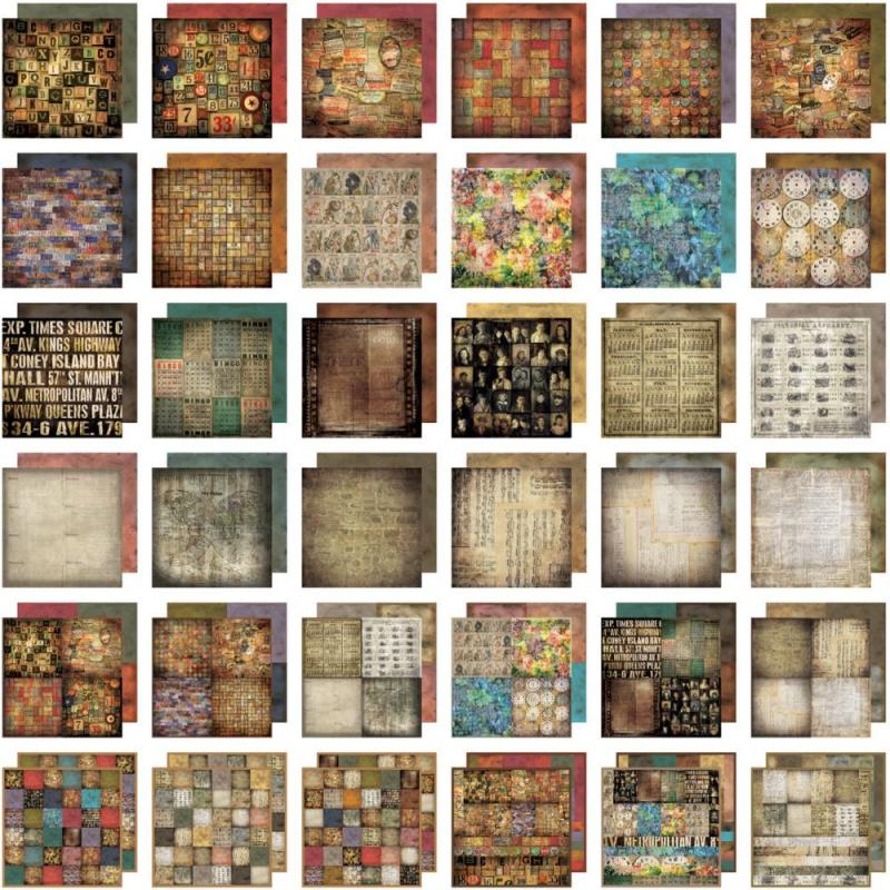 Lost & Found 12x12 Paper Stash - Tim Holtz