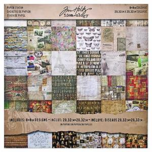 COLLAGE 8x8 Paper Stash - Tim Holtz