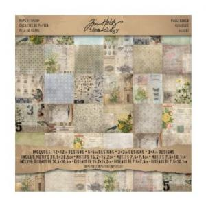 WALLFLOWER - Paper Stash 12x12 - Tim Holtz