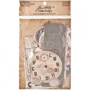 EXPEDITION - Idea-Ology Ephemera Pack - Tim Holtz