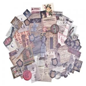 THRIFT SHOP VELLUM - Idea-Ology Ephemera Pack - Tim Holtz