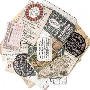 COLLECTOR - Idea-Ology Ephemera Pack - Tim Holtz