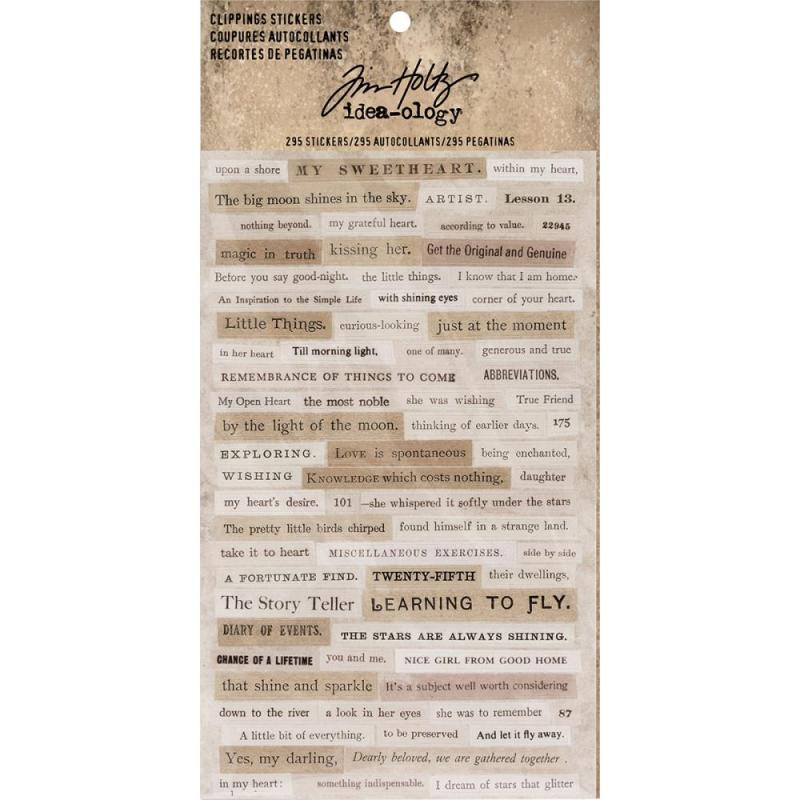 Clippings Stickers - Tim Holtz