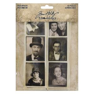 PHOTOBOOTH - Idea-Ology Ephemera Pack - Tim Holtz