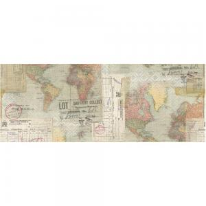 TRAVEL Idea-Ology Collage Paper - Tim Holtz