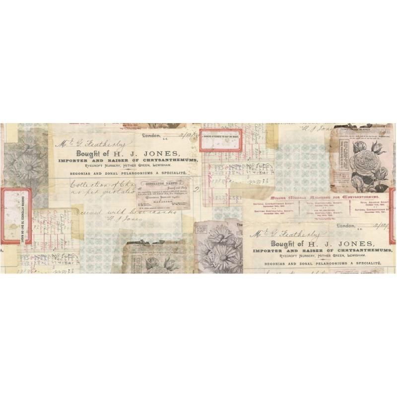 DOCUMENT Idea-Ology Collage Paper - Tim Holtz