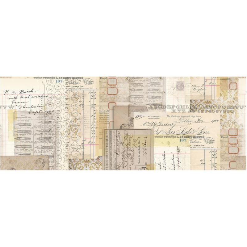 TYPOGRAPHY Idea-Ology Collage Paper - Tim Holtz