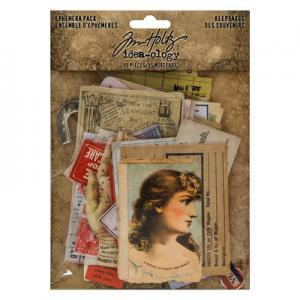 KEEPSAKES - Idea-Ology Ephemera Pack - Tim Holtz