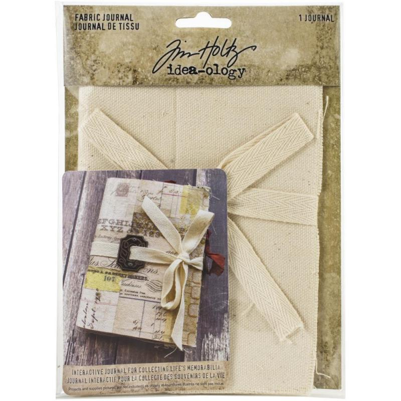 "Idea-Ology Fabric Journal 4""X6""  - Tim Holtz"