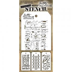 Layering MINI Stencil - SET 23 - Tom Holtz